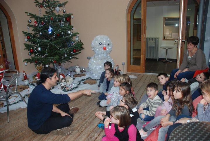 Atelier chants de Noël à Saint-Péray, décembre 2019